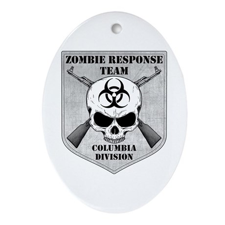 Zombie Response Team: Columbia Division Ornament (