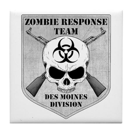 Zombie Response Team: Des Moines Division Tile Coa