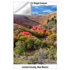 Wall Art - Autumn in Nogal Canyon Wall Decal