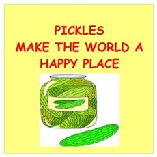 pickles Wall Art Poster