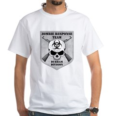 Zombie Response Team: Durham Division White T-Shir