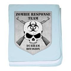 Zombie Response Team: Durham Division baby blanket