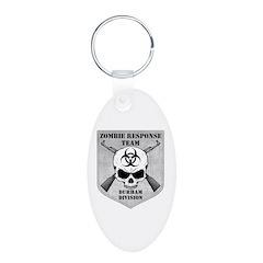 Zombie Response Team: Durham Division Keychains