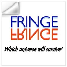 Red/Blue Fringe: Which Universe Wall Art Wall Decal