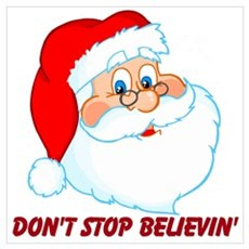 Don't Stop Believin' Wall Art Poster