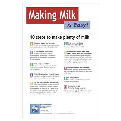 Making Milk is Easy Wall Art Poster