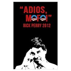 Adios mofo! Wall Art Poster