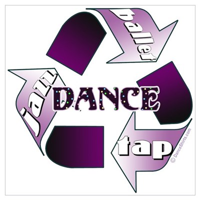 Recycle Dance Wall Art Poster