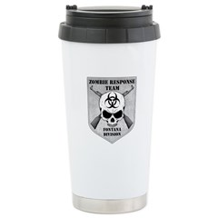 Zombie Response Team: Fontana Division Travel Mug