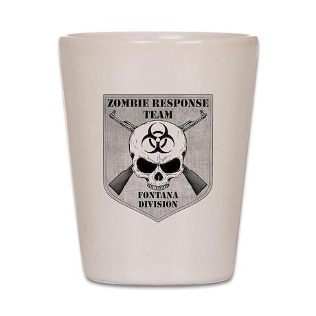 Zombie Response Team: Fontana Division Shot Glass