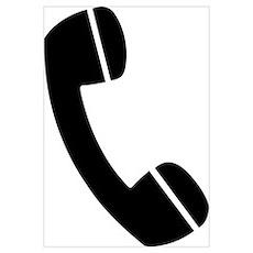 Telephone Wall Art Poster