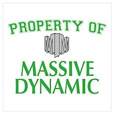 Fringe: Property of Massive Dynamic Wall Art Poster