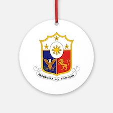 """Philippines COA"" Ornament (Round)"