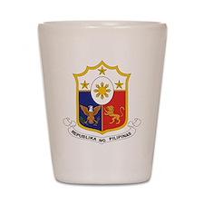"""""""Philippines COA"""" Shot Glass"""