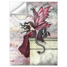 Restless Ruby Fairy and Drago Wall Art Wall Decal
