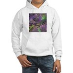 Hooded Sweatshirt mystical dragonflies