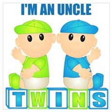 I'm An Uncle (BBB:blk) Wall Art Poster