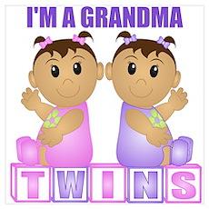 I'm A Grandma (TGG:blk) Wall Art Poster