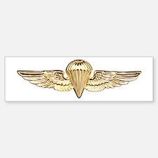 Naval Parachutist Sticker (Bumper)