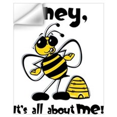 All About Me Bee Wall Art Wall Decal