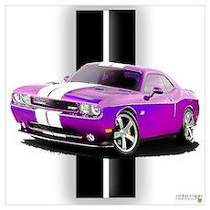 New Dodge Challenger Wall Art Poster