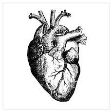HEART Wall Art Poster