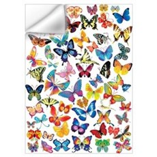Butterflies Wall Art Wall Decal