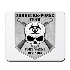 Zombie Response Team: Fort Wayne Division Mousepad