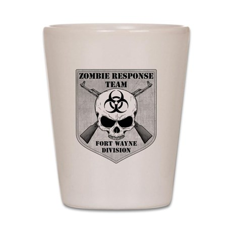 Zombie Response Team: Fort Wayne Division Shot Gla