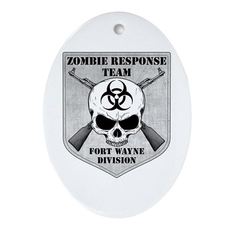 Zombie Response Team: Fort Wayne Division Ornament