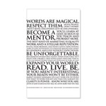22x14 Voiceover Talent Manifesto Wall Peel
