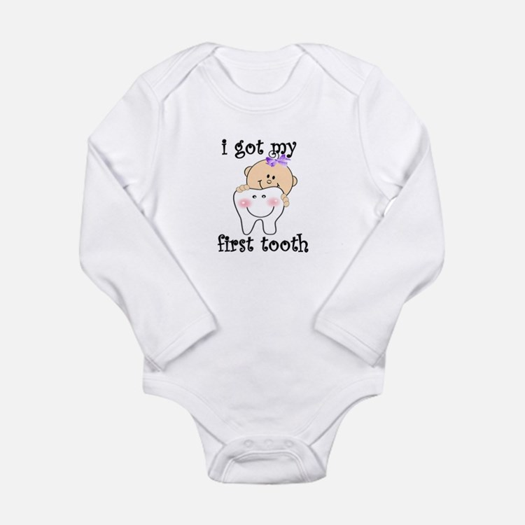 first tooth girl Body Suit