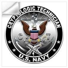 USN Cryptologic Technician Ea Wall Art Wall Decal
