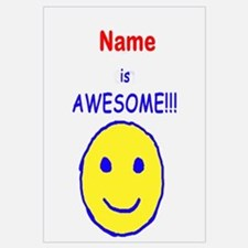 I am Awesome (personalized) Wall Art