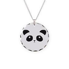 Panda Face Necklace