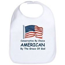 Conservative By Choice Bib