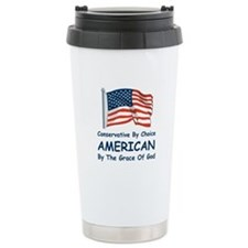 Conservative By Choice Travel Mug
