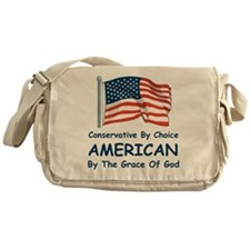 Conservative By Choice Messenger Bag