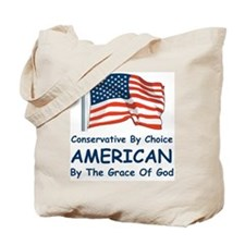 Conservative By Choice Tote Bag