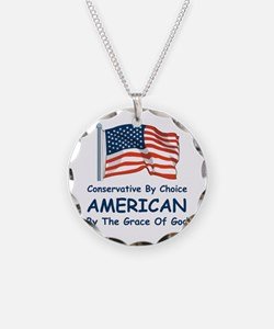 Conservative By Choice Necklace