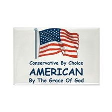 Conservative By Choice Rectangle Magnet (100 pack)