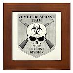 Zombie Response Team: Fremont Division Framed Tile