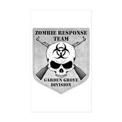 Zombie Response Team: Garden Grove Division Sticke