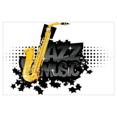 Jazz music Wall Art Poster