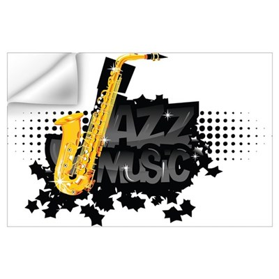 Jazz music Wall Art Wall Decal