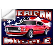 American Muscle - Mustang Wall Art Wall Decal