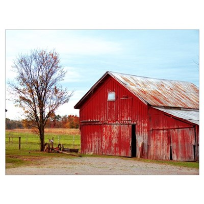 Ole' Red Wall Art Canvas Art