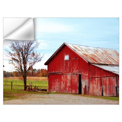 Ole' Red Wall Art Wall Decal