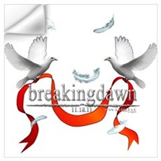 Twilight Breakingdawn White D Wall Art Wall Decal