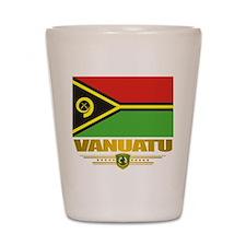 """Vanuatu Flag"" Shot Glass"